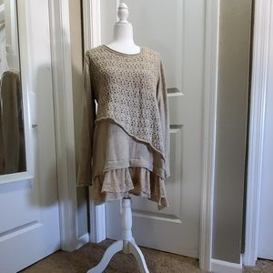 Simply couture sweater dress